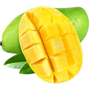 越南进口青皮新鲜整箱10斤装芒果