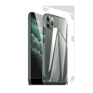 宏美iphone12promax水凝膜11全包xs後鋼化xr蘋果手機保護貼膜邊框膜背膜全包7plus防窺8綠光mini前後量子pro