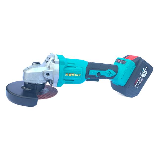 大功率无刷锂电角磨机充电式多功能手磨机切割磨光手砂轮抛光机