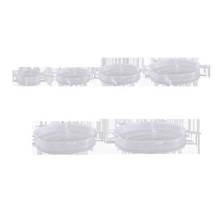 食品級硅膠保鮮蓋萬能碗蓋密封膜蓋子家用多功能通用日本保險拉伸