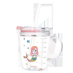 贝姆士儿童牛奶杯可加热专用玻璃杯