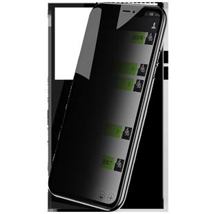 蘋果x鋼化膜iPhonex防窺膜iPhone11防偷窺xr全屏Xsmax覆蓋11ProMax手機MaxPro窺視xs貼膜Xmax十一por透ghm屏x