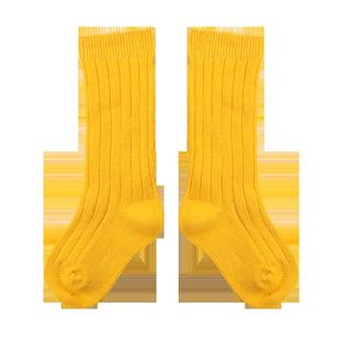 Panocka春秋冬純棉兒童襪子寶寶嬰兒襪堆堆襪長筒襪ins女童中筒襪