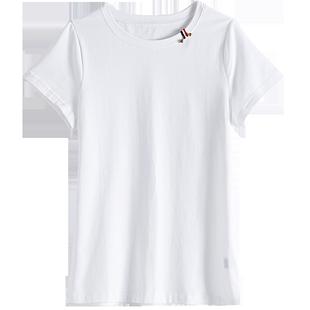 歐洲站女裝歐貨潮2020新款體恤上衣寬鬆t恤女短袖內搭打底衫夏季
