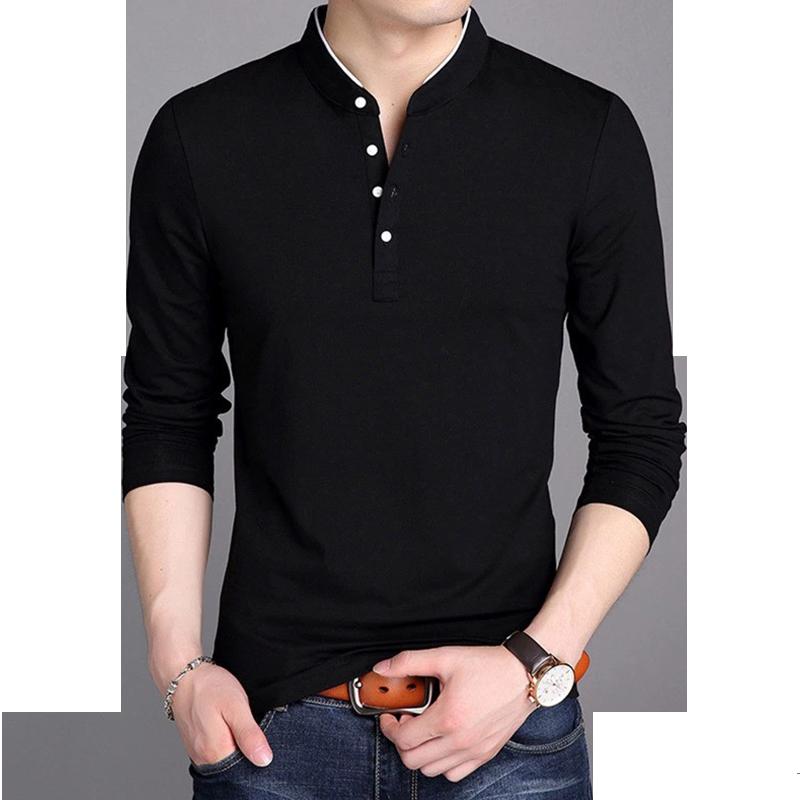 梵客隆丅恤新款韩版潮流男士纯棉上衣服 短袖polo衫t恤 夏装体恤