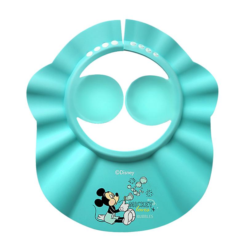 迪士尼洗发帽婴儿童防水护耳浴帽
