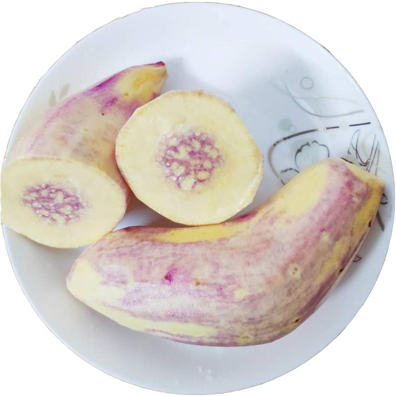 【顺丰包邮】红薯新鲜现挖从化一点红番薯南沙紫心冰淇淋花心地瓜