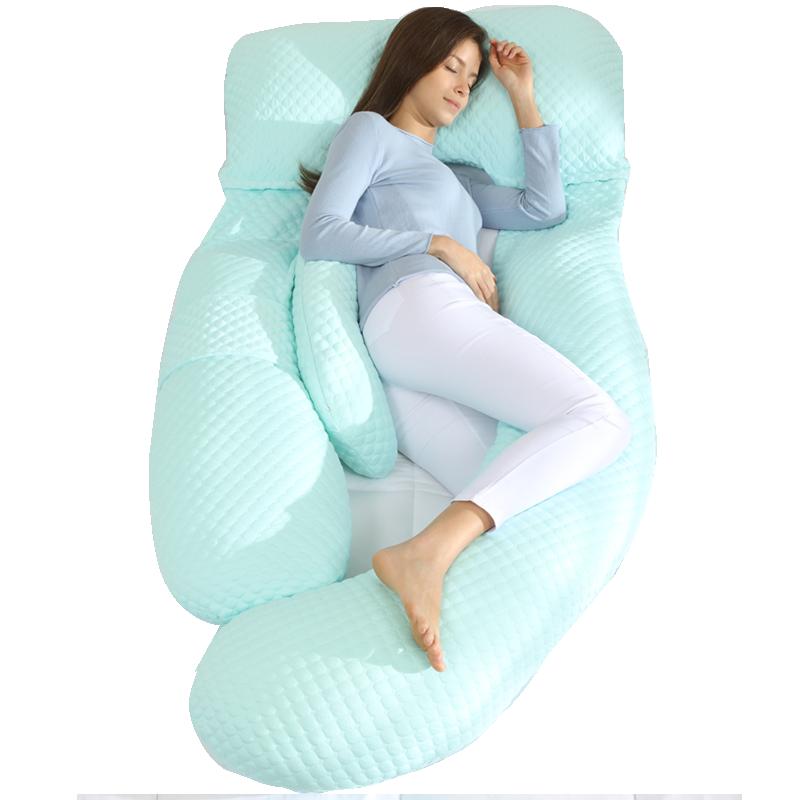 孕妇枕头护腰侧睡枕托腹u型枕抱枕孕期侧卧枕孕靠枕g睡觉神器用品