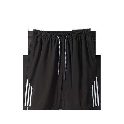 短裤男士夏季冰丝运动休闲中裤子