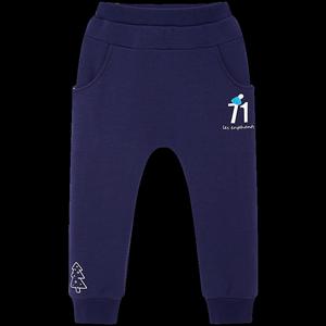 [预售]丽婴房童装儿童加绒裤子冬装男女宝宝保暖休闲裤束口长裤