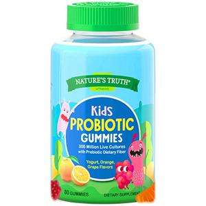 美国儿童益生菌软糖调理肠胃便秘养胃粉保健品助消化食品乳酸杆菌