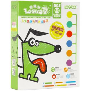 邏輯狗4-5歲第二階段全套網絡版幼兒童家庭早教思維訓練玩具中班