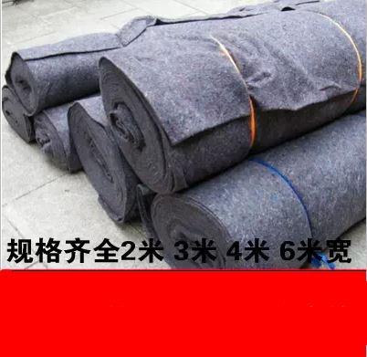 农用盖楼包装毯水泥工程路面防寒毡土布市政运输园林棉布施工养殖