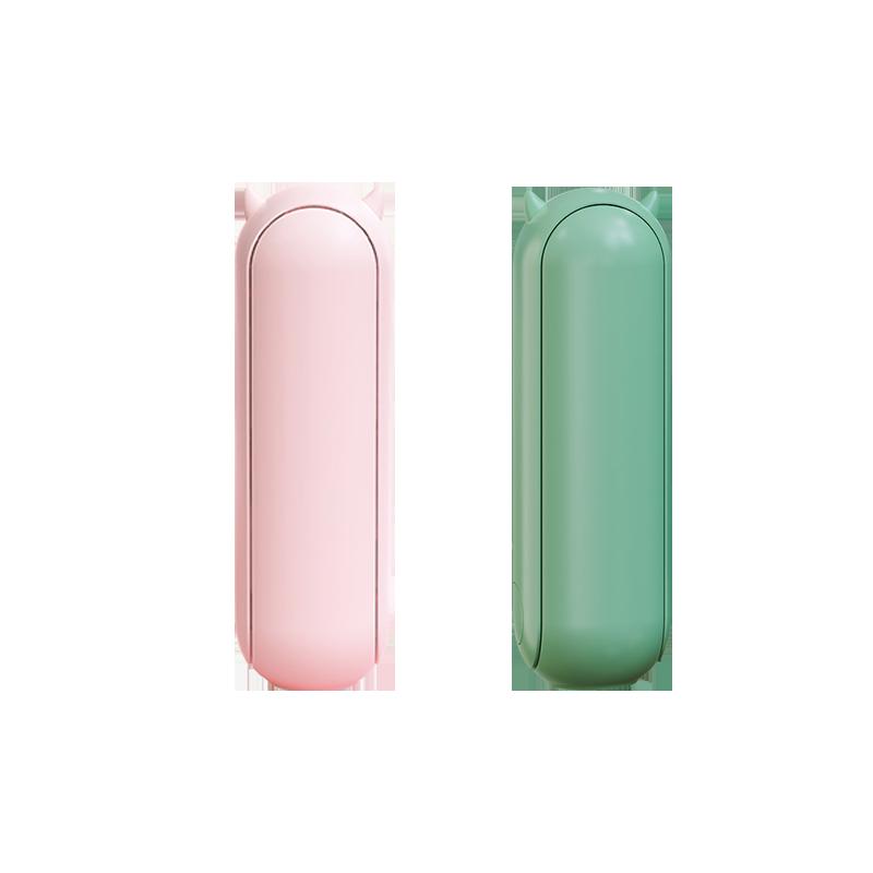李佳琦推荐小熊折叠小风扇便携式充电小型迷你学生可爱静音手持多功能电风扇充电两用儿童超长电量续航神器