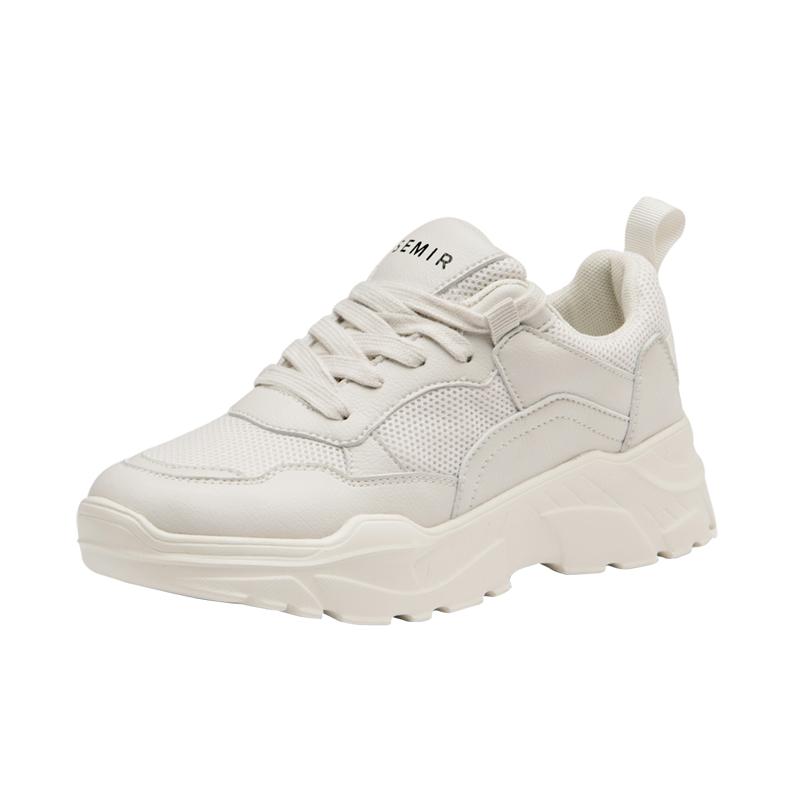 老爹鞋女2021秋冬新款百搭鞋子厚底显瘦小白鞋休闲撞色透气运动鞋