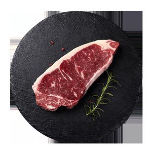澳洲整原切牛排雪花牛扒厚肉儿童西冷牛排套餐团购黑椒新鲜非腌制