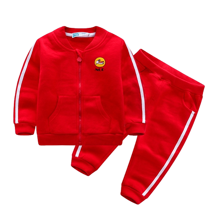 男童运动套装春秋季新款中小童衣服