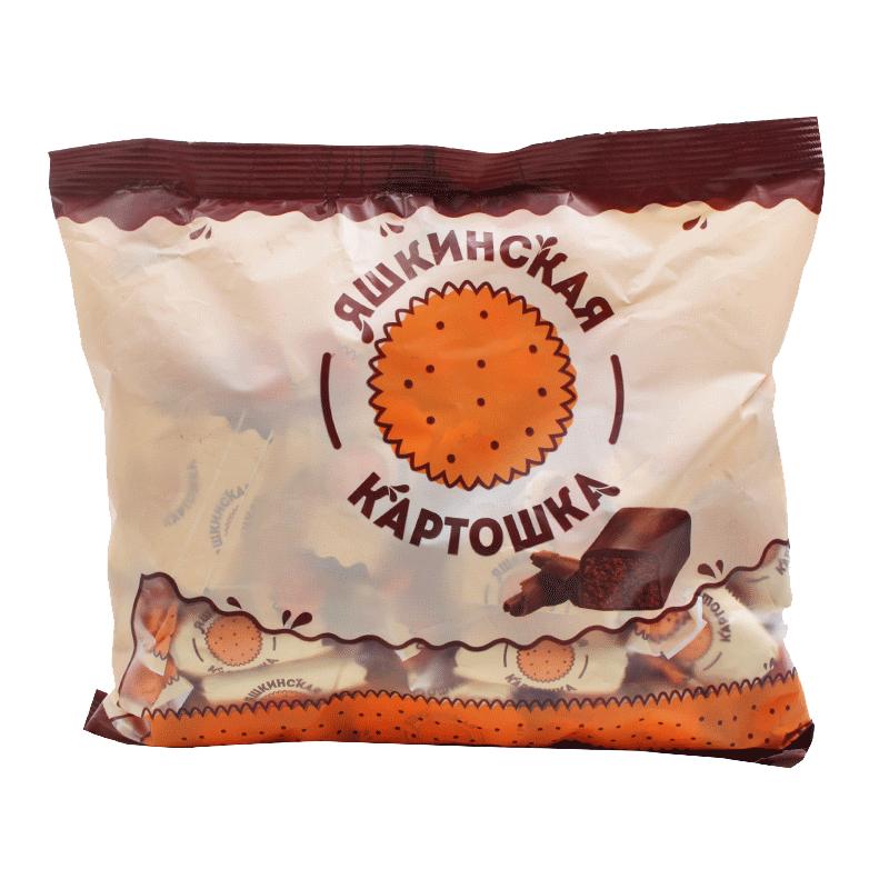 俄罗斯糖果进口土豆泥巧克力松露500g春节年货零食喜糖食品包邮
