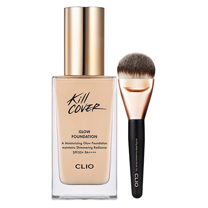 Clio/珂莱欧净颜光彩粉底液套装