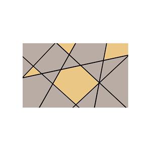 北欧现代简约几何电视背景墙壁纸