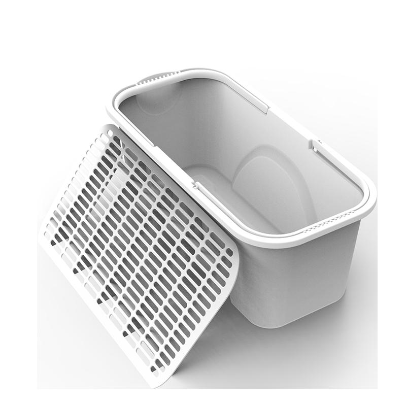 拖把桶长方形家用洗拖布水桶手提塑料桶加厚大号学生用宿舍清洗桶