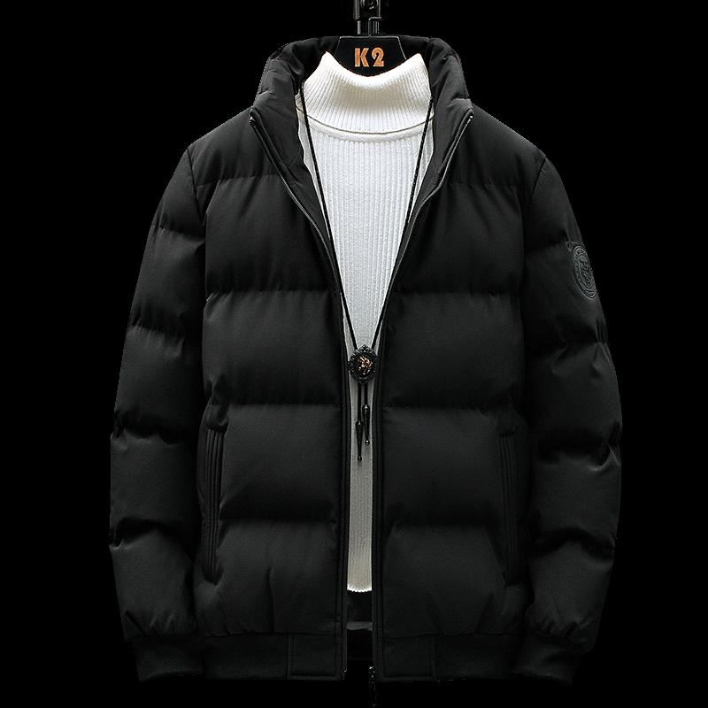 男士韩版潮流加厚棉衣外套