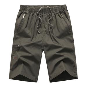 男士五分裤夏季中年休闲宽松短裤