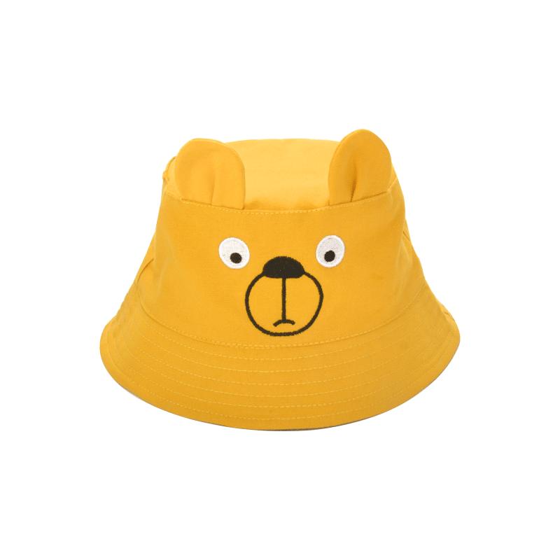 2-4周岁女童春夏季盆帽搞怪男宝宝渔夫帽百搭防晒遮阳儿童帽子潮
