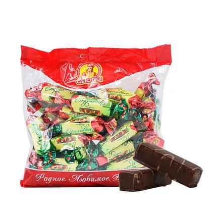 俄罗斯进口斯拉夫四颗榛子巧克力