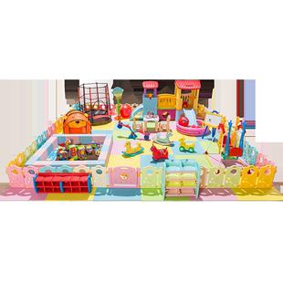 兒童樂園滑滑梯室內設備遊樂場設施幼兒園玩具家用家庭小型遊樂園