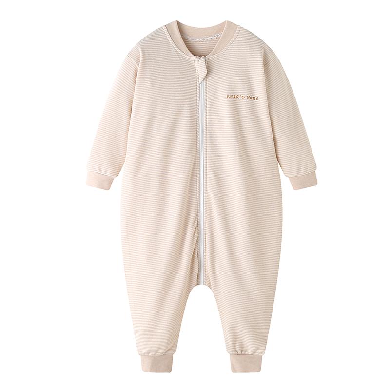 纯棉加绒防踢被四季通用婴儿睡袋
