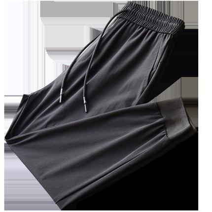 冰丝超薄透气男士速干裤夏季休闲裤