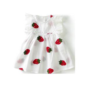 小女童夏季0-1-3岁夏装韩版连衣裙
