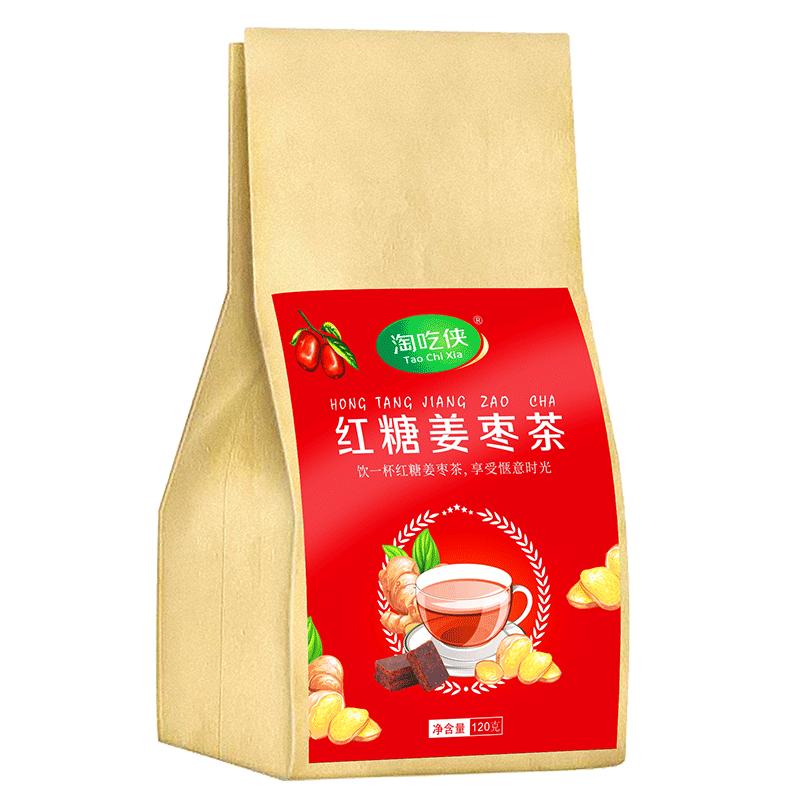 【淘吃侠】红糖姜茶红枣茶