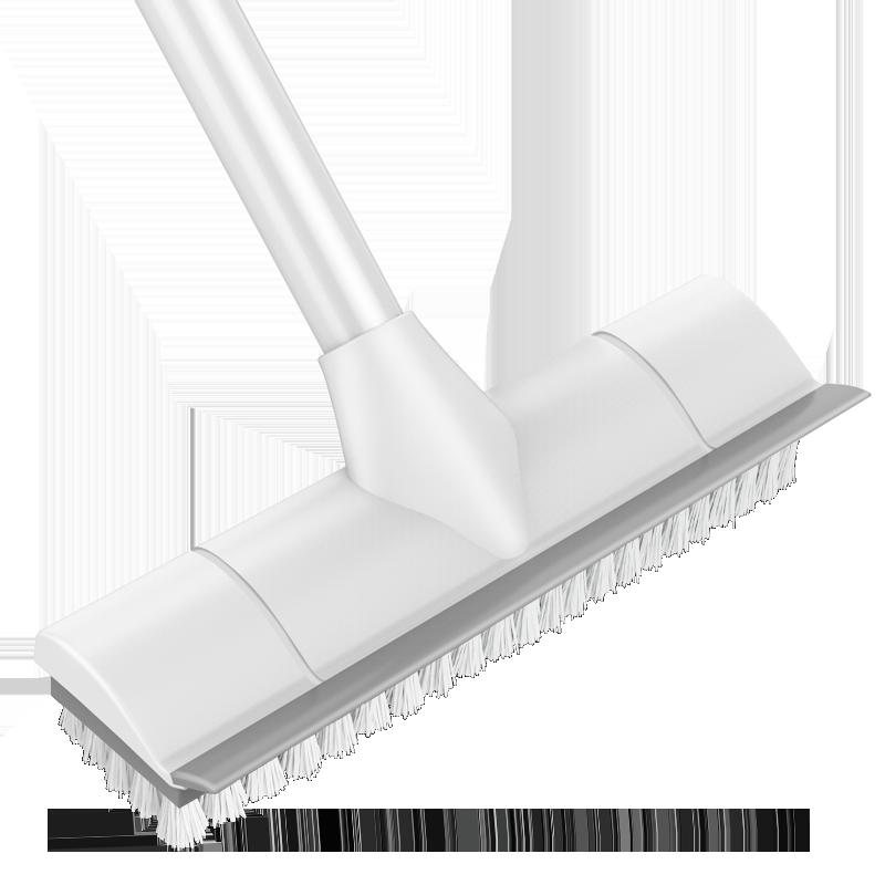 地板刷卫生间瓷砖刮水刷子浴室刷地去死角清洁神器进口硬毛长柄刷