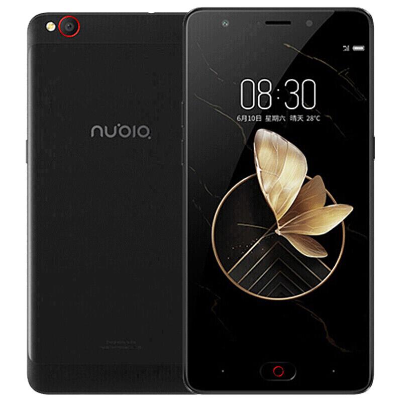 现货速发 努比亚(nubia)M2 畅玩版 黑色 3GB+32GB 全网通移动优先版 移动联通电信4G手机 双卡双待