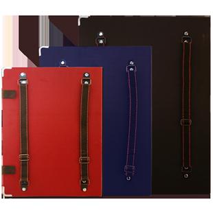畫板夾素描寫生速寫板4k/A3/6K/8K可裝紙帶兜防水兒童雙肩背素描畫夾套裝摺疊多功能便攜畫板