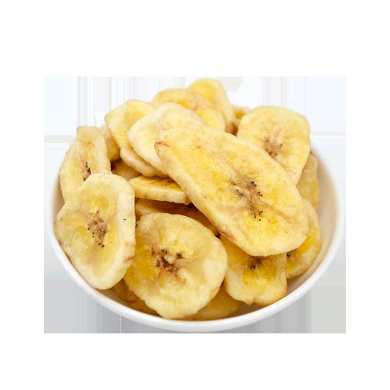 脆香蕉片250g休闲办公室零食蜜饯水果干香蕉脆片芭蕉干小包装包邮