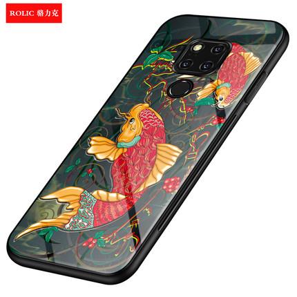 华为mate20中国风玻璃20pro手机壳