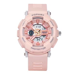 小清新楊紫佟年同款少女心電子女運動禮物户外手錶