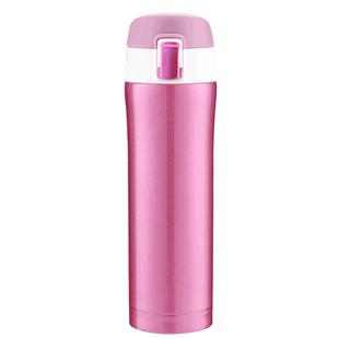 保温杯男女304不鏽鋼便攜可愛彈跳蓋防摔水杯子瓶ins風格定製logo