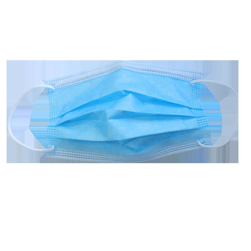 一次性口罩现货包邮50只成人三层防护白色透气男女一次性 囗 罩