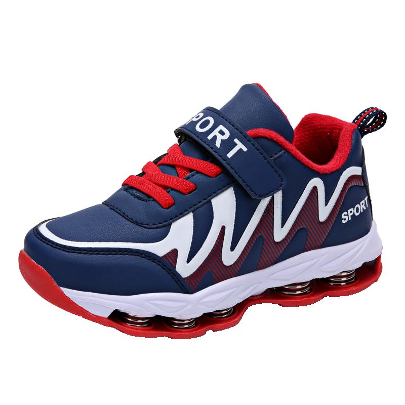 2019新款童鞋男童运动鞋春秋款中大童儿童鞋子男孩弹簧鞋跑步鞋