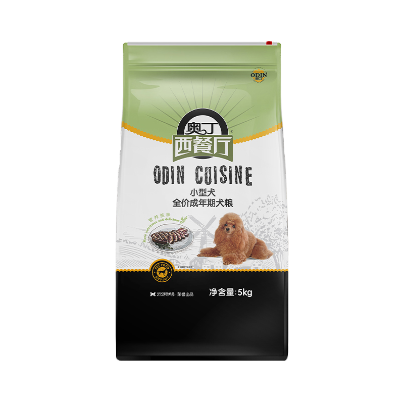 奥丁西餐厅狗粮 通用型成犬5kg泰迪比熊小型犬专用粮天然狗粮10斤