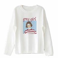 长袖白色t恤春秋新款韩版潮打底衫评价如何