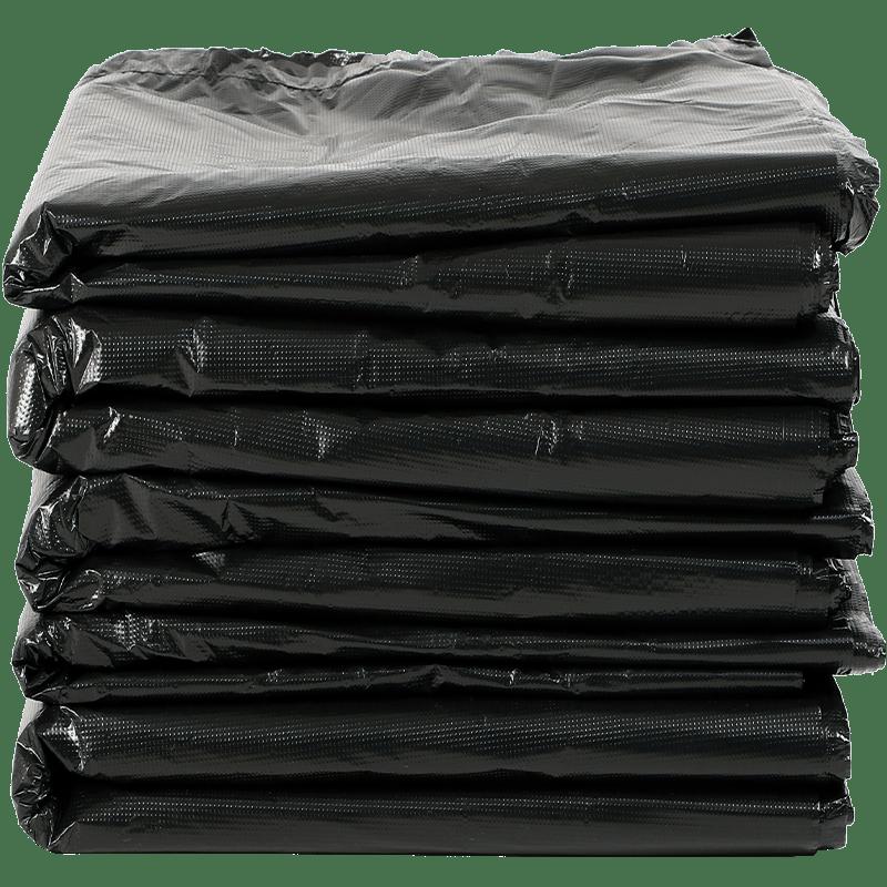 黑色垃圾袋大号商用80超大塑料袋加厚环卫特大垃圾袋家用厨房批发