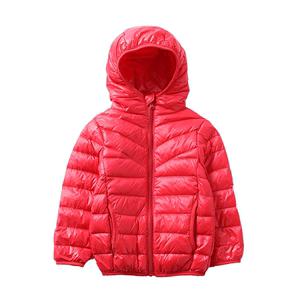 北极绒轻薄秋冬短款童装宝宝羽绒服