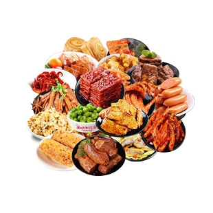 零食大禮包網紅辣條麻辣滷味小吃組合一箱整箱超大混裝送老婆大人