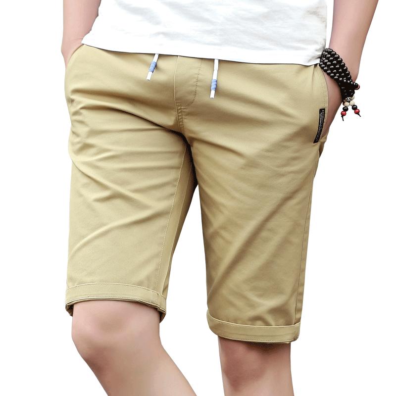 夏季男士短裤休闲运动5五分裤中裤宽松速干潮流沙滩裤子薄款