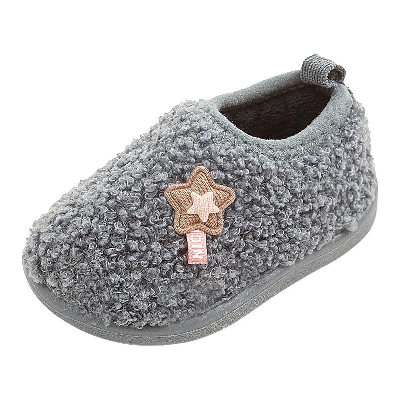 儿童棉拖鞋保暖室内家居小孩棉鞋怎么样